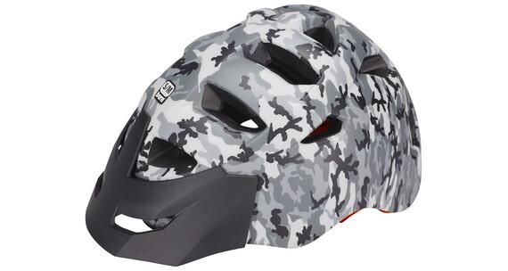 Bern Morrison Helm inkl. Breakaway-Visier grau-camouflage